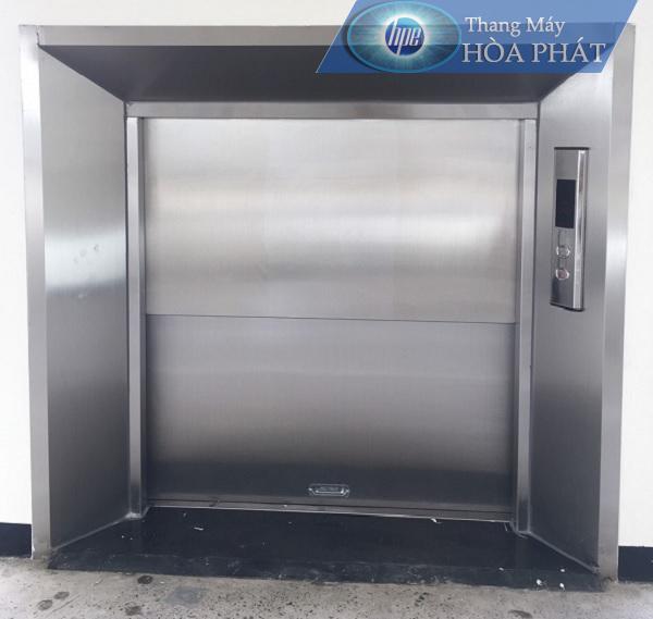 lắp đặt thang máy tải thực phẩm