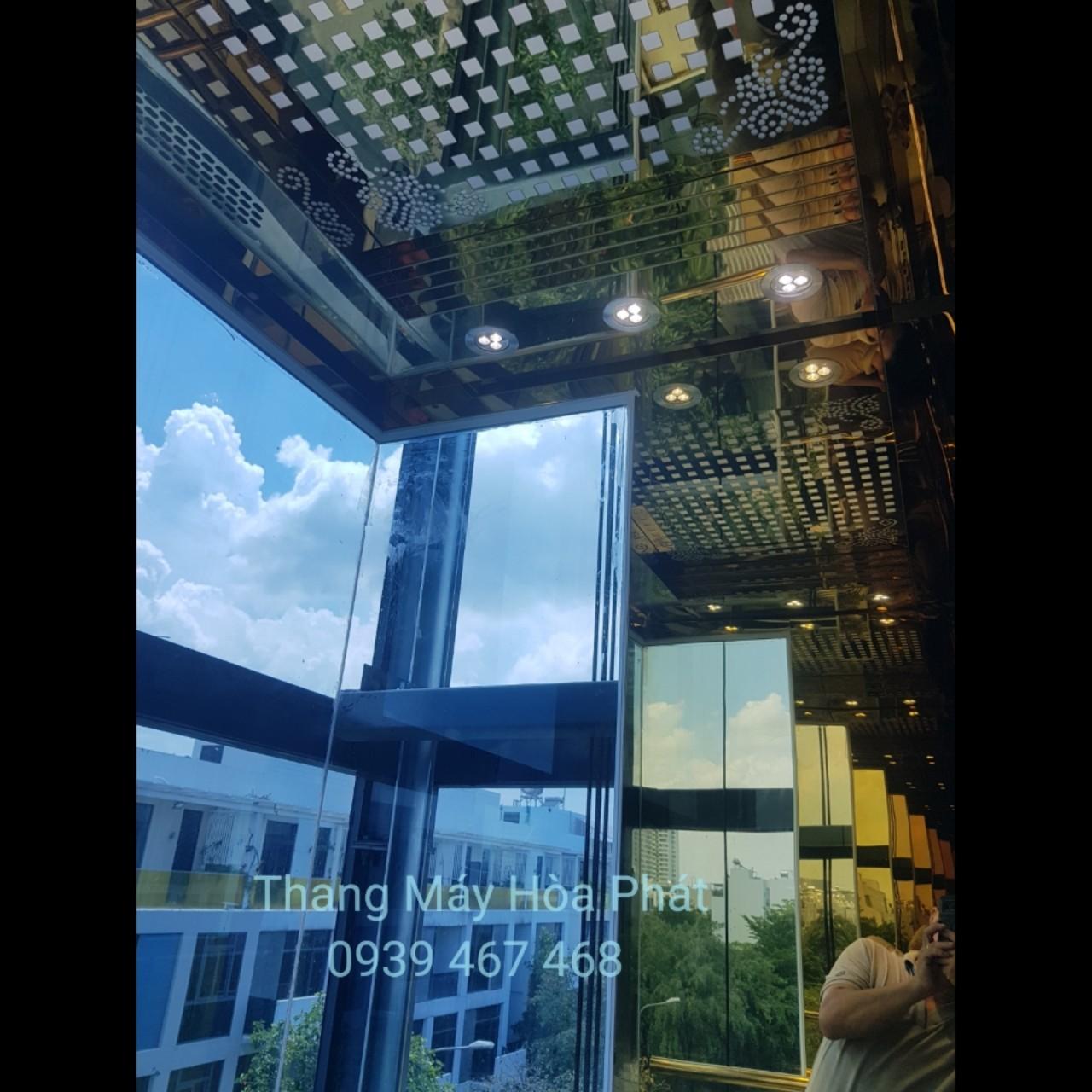 thang máy lồng kính quan sát